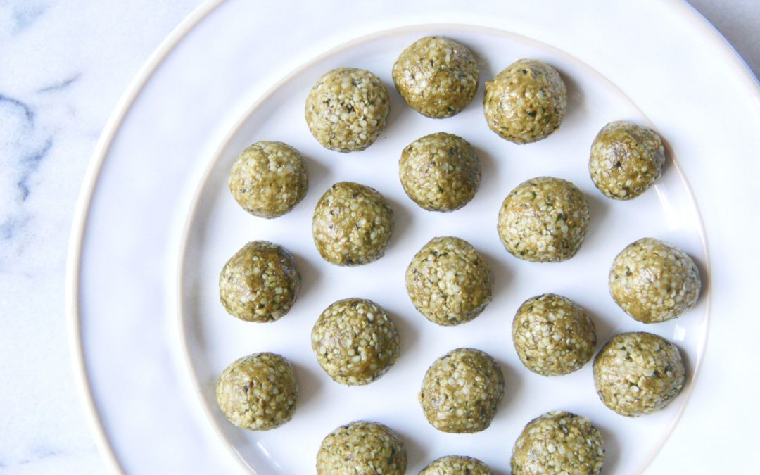 Morning Matcha Energy Balls