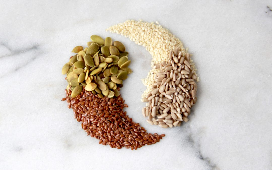 seed cycling for natural hormone regulation and hormone balance