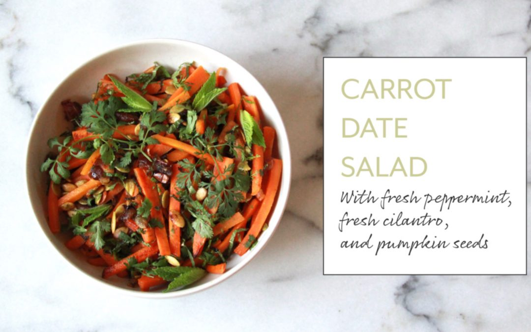 Fresh N' Sweet: Carrot Date Salad
