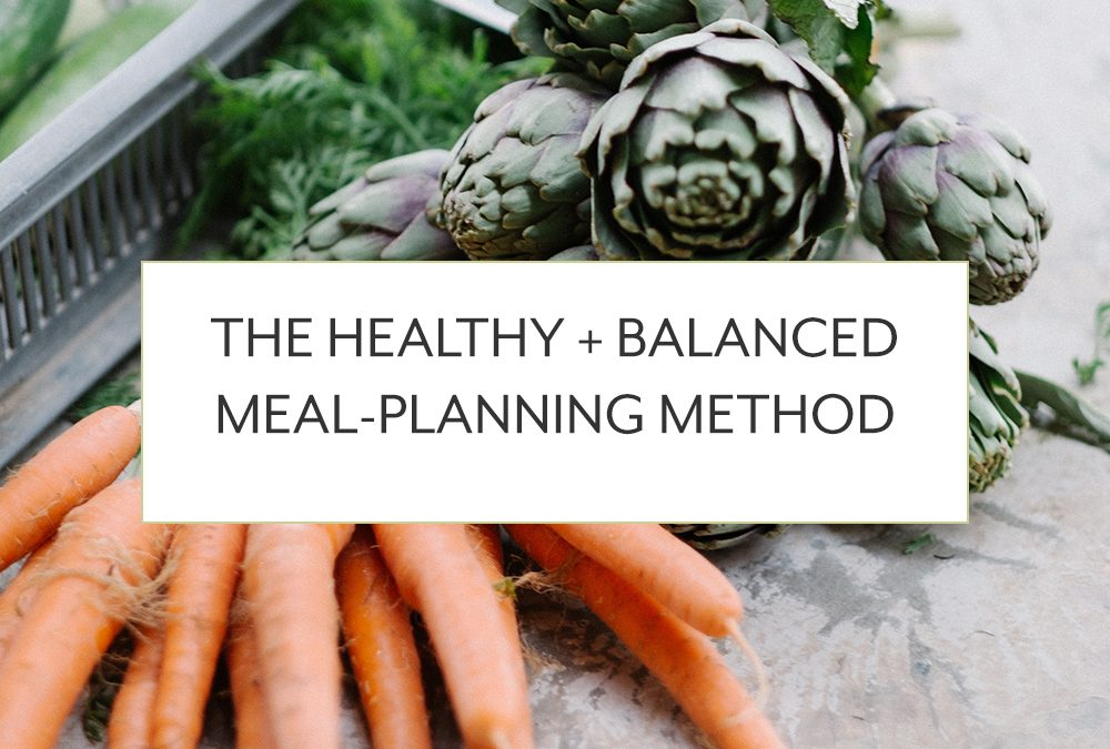 The Healthy + Balanced Meal Planning Method: 3 Steps to Creating a Healthy and Balanced Meal Plan as an Ambitious Mama
