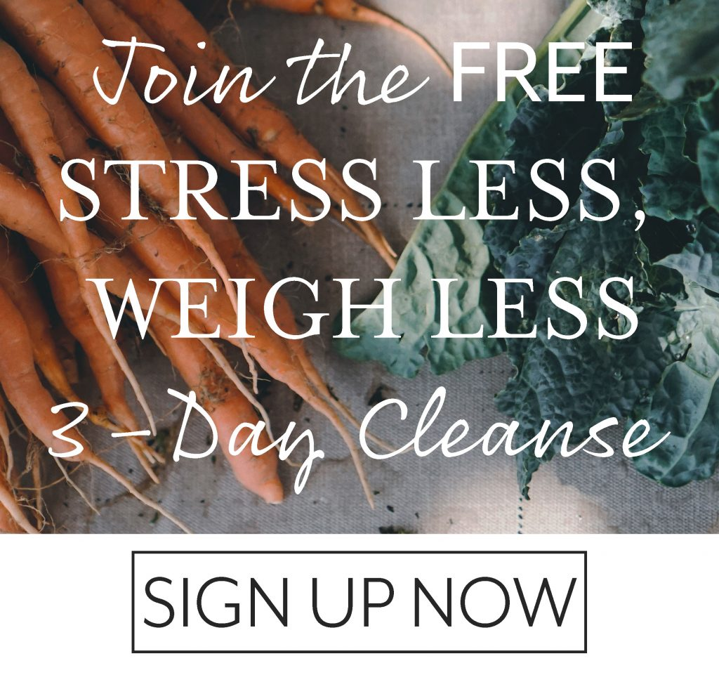 stress less weigh less free cleanse